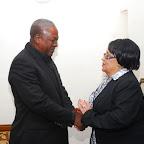tn_DSC_0085 speaker of paliament Mrs.  Joyce Banford Addo calls on Prez.john Mahama.JPG