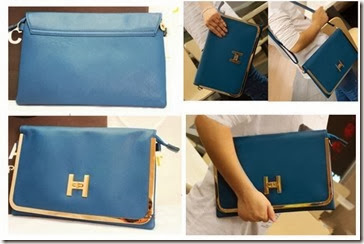 ID 0077 DarkBlue (183.000) - PU Leather, 20 x 31