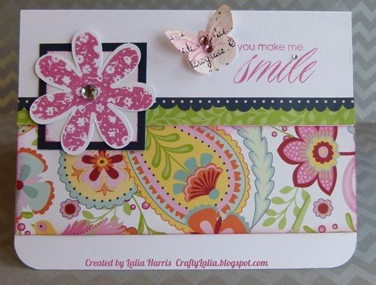 Card-Chantilly you make me smile