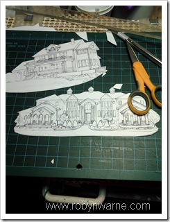 Custom House Ornament Templates