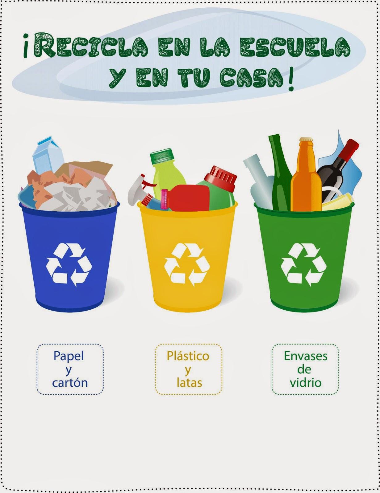 Reciclando por 701 no solo recicles en la instituci n - Colores para reciclar ...