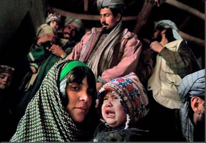 In Ghor Province, central Afghanistan, thousands of children are suspected to have died beacuse of the horrendous cold and the lack of food.