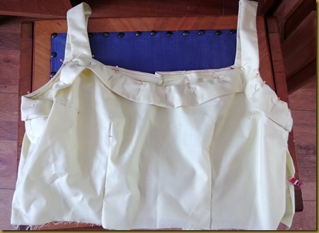 Bodice Toile Cropped