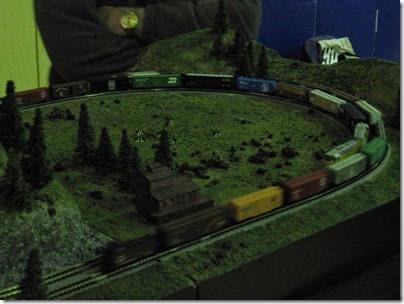 IMG_4697 Cascade Z Modelers Layout at LK&R Swap Meet in Rainier, Oregon on December 9, 2006