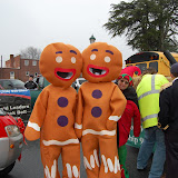 WBFJ in the Lewsiville Christmas Parade - 12-12-10