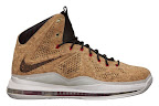 nike lebron 10 gr cork championship 5 01 @KingJames Wears NSWs Nike LeBron X Cork Off the Court