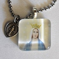 miraculous medal tile