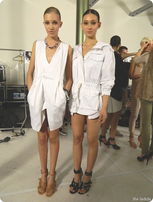 Cleo and Swarovski Backstage (5)