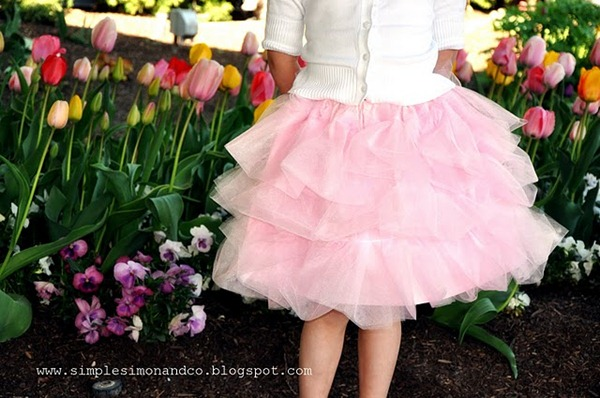 cotton candy skirt tutorial