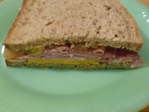 Ham and Cheese with Apple Chutney