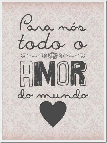 amor do mundo