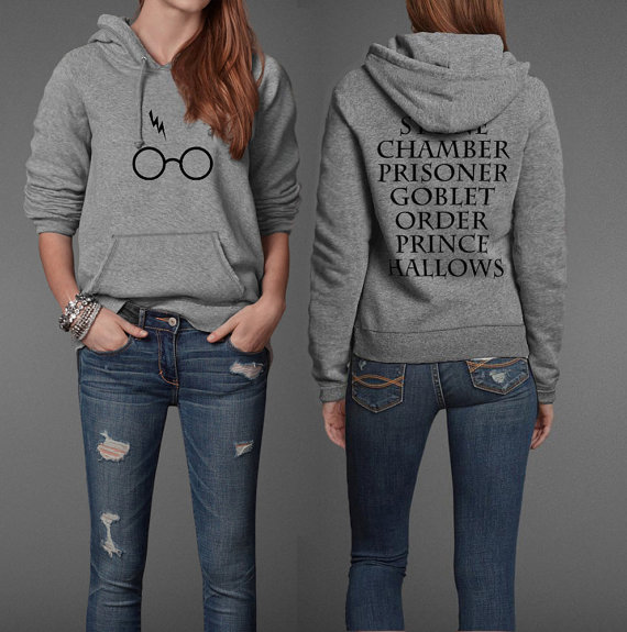 Harry Potter Book Title Inspired Pullover Hoodie from Paren Holly