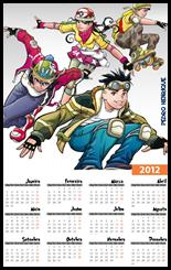 Calendario 2012 Turma