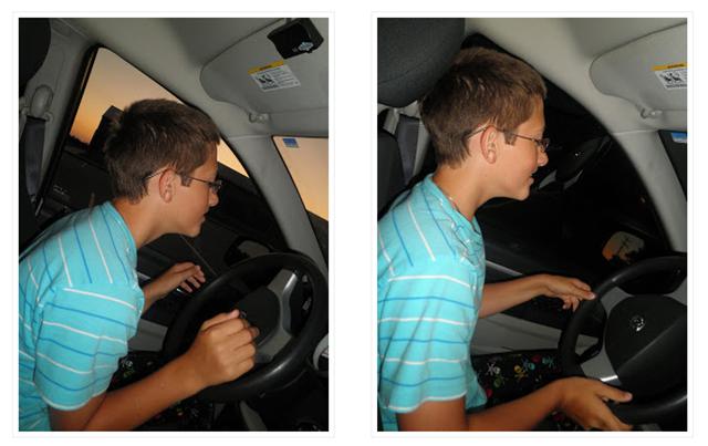 zach driving