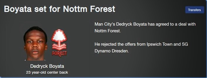 Boyata goes to Nottm Forest