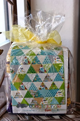 Bungle Jungle quilt pattern and kit