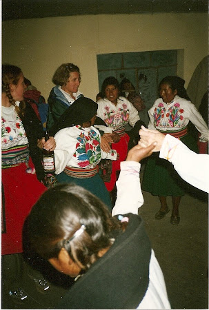 Things to do in Titicaca: Traditional dance on Amantani island