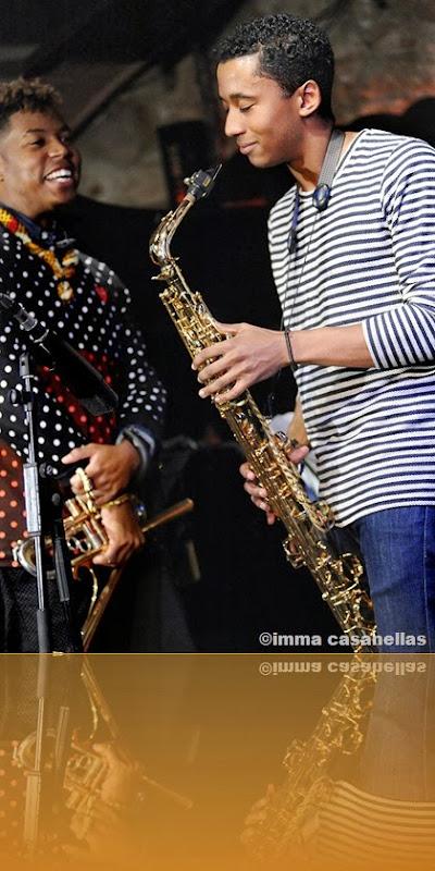 Christian Scott & Braxton Scott, Barcelona 2013