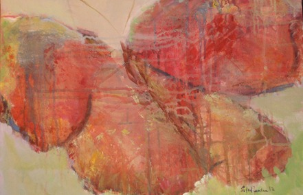 Sommerfugl, 55x45