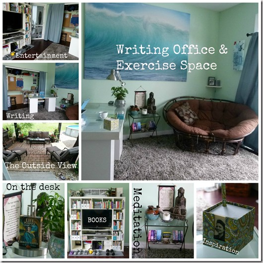 office collage text