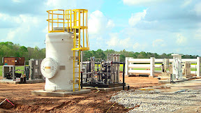 Cornerstone Environmental is tapping landfill gas to make up to 250 gasoline gallon equivalents of 'BioCNG' in St Landry Parish, La. The facility opened March 26.