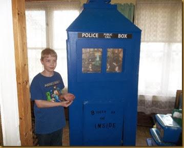 TARDIS inside side with Mark