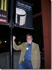 Ron with MAH show sign - 72