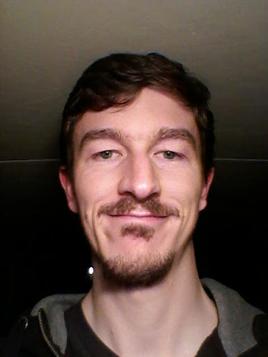 Not the most flattering photo but this is me with a mustache that took nearly 2 months to grow. All this to freak out Jeannie when she got back from NY! Sheesh. The things I do.
