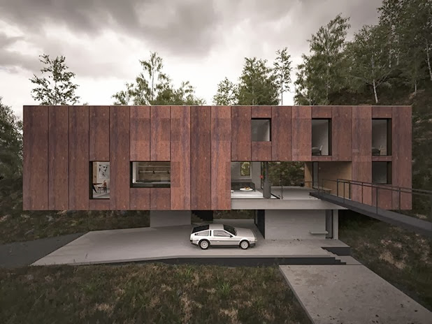 house for a photographer by hyde   hyde architects 3