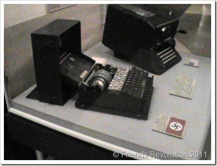 German Enigma code breaking machine