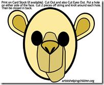 camels-masksprintable
