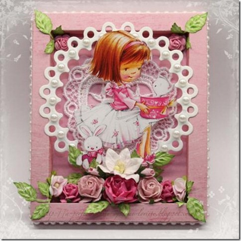 Frame card Loreta