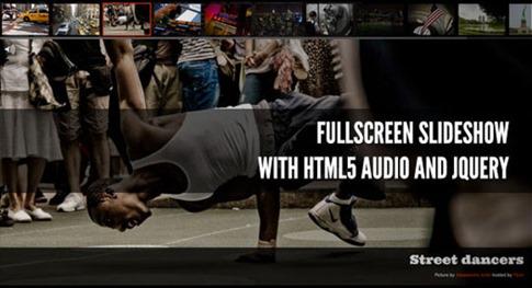 Visor HTML5 con audio