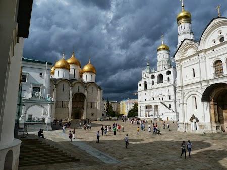 Obiective turistice Moscova: Biserici Kremlin