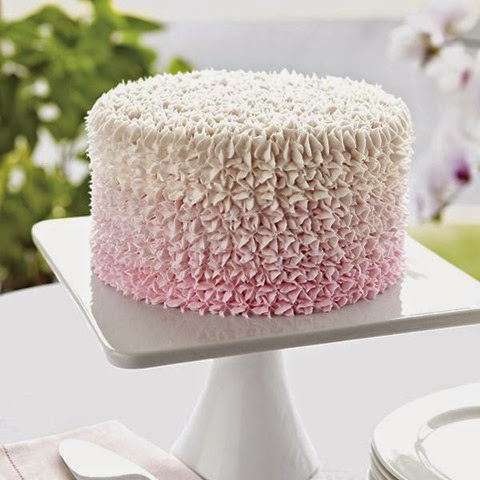Sweetly Pink Star Cake by Wilton