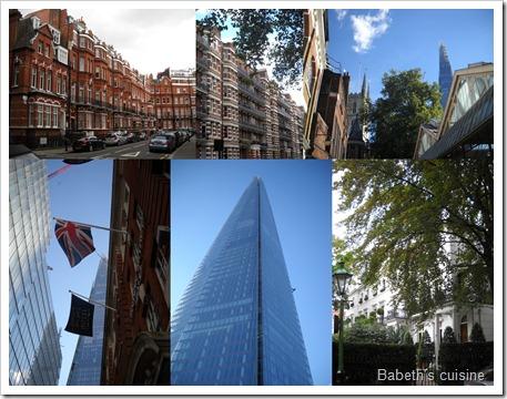 Londres choc des époques