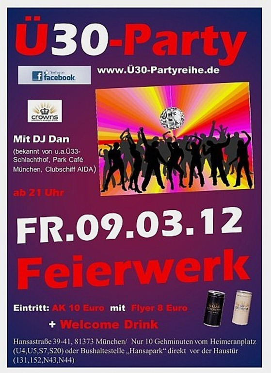 UE30-Party-Muenchen