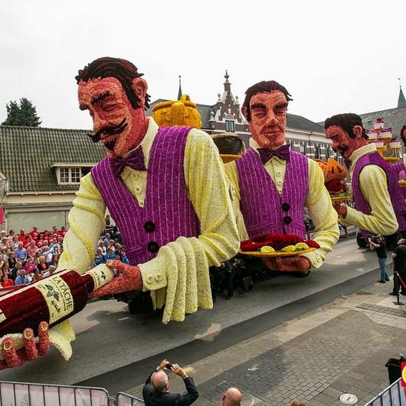 Bloemencorso Zundert Flower Parade 2014