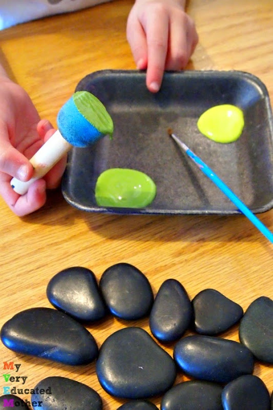 prepaintedrocks #craftlightning #kidscrafts #kidsactivities