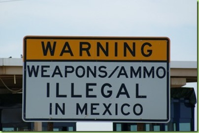 weapons illegal in Mexico