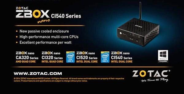 ZOTAC ZBOX Nano C