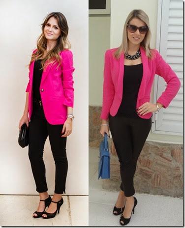 06_looks-de-trabalho_looks-femininos_looks-para-entrevista-de-emprego_calc3a7a-preta_blusa-preta_blazer-rosa-pink1