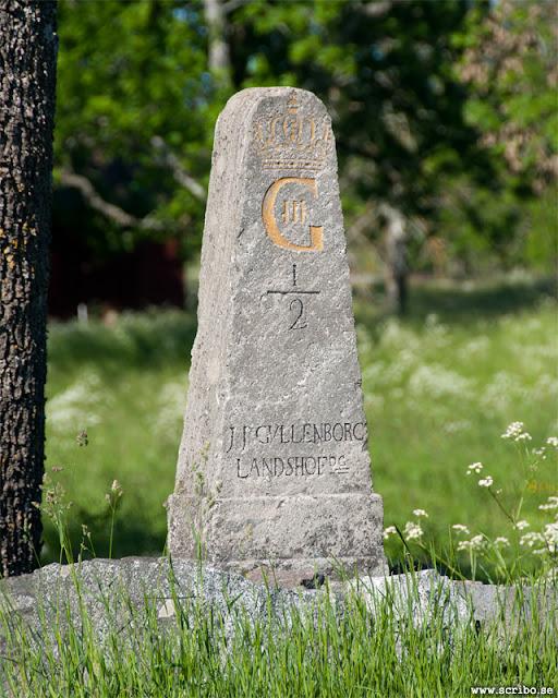 Milstolpe rest av Jacob Johan Gyllenborg 1777