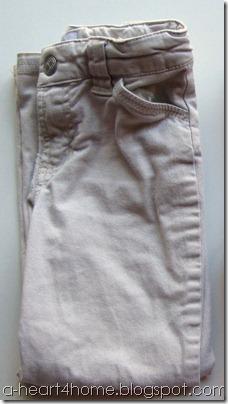 dyeing khakis