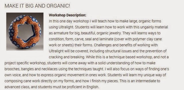 Make It Big and Organice Workshop Description