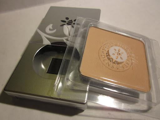 Honeybee Gardens Pressed Mineral Powder Foundation ($11.99 for reusable compact plus $9.99 for powder)