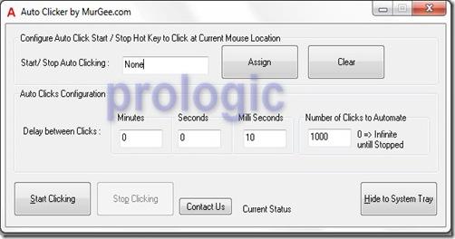 AutoClicker - prologic