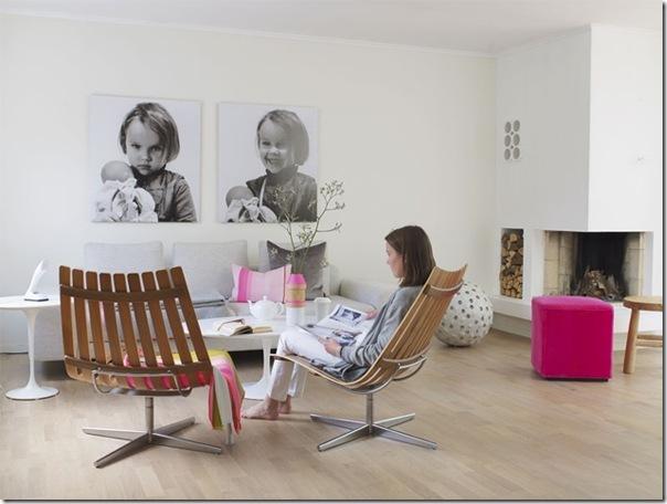 case e interni - casa Scandinava - accenti colori (4)