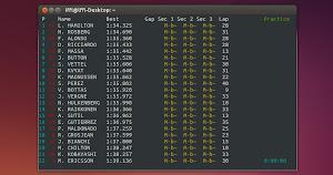 Live F1 in Ubuntu Linux