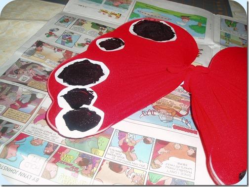 Ladybug Wings Step 5